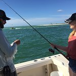 Southern Calif people loving Kyle and Six Chuter !! Best fishing day ever ... real pros and tons