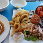 seafood platter, melts in your mouth!