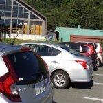駐車場、スキー場があります