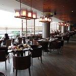 Edge restaurant for buffet breakfast - AMAZING!
