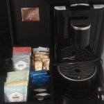 Coffee & tea making facilities (one bedroom apartment, Adina Apartment Hotel, Brisbane)