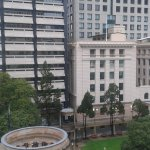 View from room (one bedroom apartment, Adina Apartment Hotel, Brisbane)