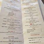 Menu options, Mona Lisa Ristorante Italiano , 1697 Corydon Ave, Winnipeg, Manitoba