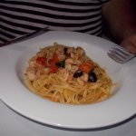 """Blue Lagoon"". Pasta was very delicious!"