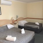 Twin Room, Clean comfortable , Great showers , and reverse cycling air conditioning