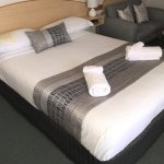 Our Deluxe rooms are larger than most and include microwave coffee making machine fridge etc