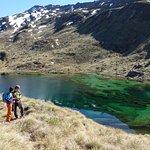 Heli hike in Mt Aspiring