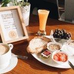 Desayuno del hostal