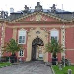Въездные ворота замка