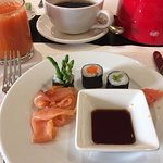 wonderful breakfast and tons to choose from-delicious
