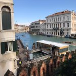 Ca'Rezzonico from junior suite grand canal view 306.