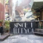 Deco fonts and the Fintan Magee mural