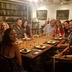 The communal table is the best part of the evening!