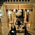 The Shelbourne: I love the entrance hall, so homely and inviting
