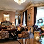 The Shelbourne: This is what we called the 'Fancy Lounge' Very comfortable