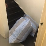 5footway.innProjectChinatown1 Blocking the stairwell landing to the fire escape!