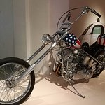 Replica of the Captain America chopper from Easy Rider