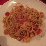 Delicious pasta!