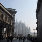 on the way to the duomo