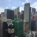 The city sky line