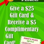 Gift Card Promotion thru Christmas