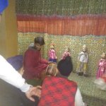 Traditional puppet show!
