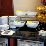 Concierge lounge breakfast buffet