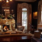 Front Parlor at Christmas