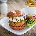 Vegetarian bean burger