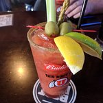 Bloody Mary with bacon!