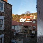 View from the room towards St Marys Church (next to the Abbey)