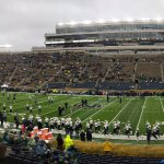 Awesome notre dame stadium