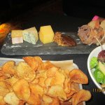 Cheese Board Chips and Apple Salad