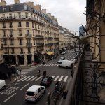 Room 205 overlooking the Rue des Ecoles