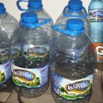 Water drank to keep hydrated with diarrhea!