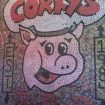 Corky's in mosaic – dining room