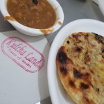 Kulcha and sholay curry