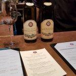 Wine menu and wine
