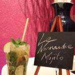 """Dernière création de la Villa : Le """"Normandie Mojito"""""""