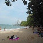 Пляж Вонгамат ,бухточка