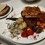 food in the Lebanese restaurant