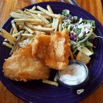 Fish and Chips, Smolt portion.
