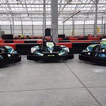 Electric go-karts @ Velocity Raceway