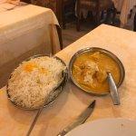 Poulet Korma riz basmati