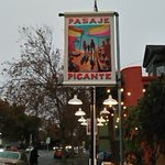Picante street sign