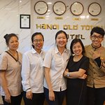 Friendly staff at the Hanoi Old Town Hotel