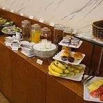 Delicious breakfast buffet at the Hanoi Old Town Hotel
