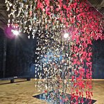 The Dress of Nations is made up of 6000 Seed-dresses made from pieces of recovered garments