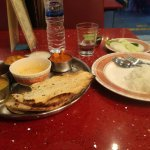 best indian food experienced at Khana khazana