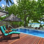 Swimming Pool, Deluxe Beachfront Pool Villa